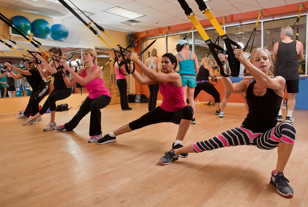 Trx on mobility exercises